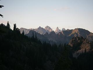 Peaks to the North