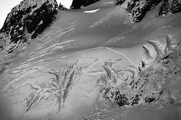 One of Hagan's glacier