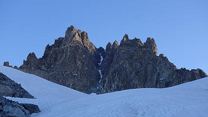 South couloir of Woodrow Wilson