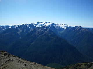 Olympus from Mt. Carrie