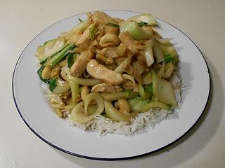 Chicken and Bok Choy Stir-Fry 042320