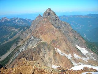 American Border Peak from summit
