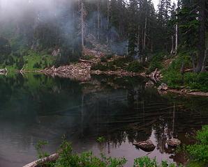 melakwa lake campfire