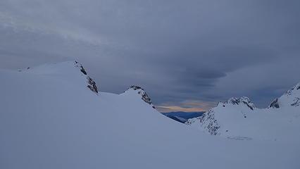 Glacier Dome from the Grand Plateau