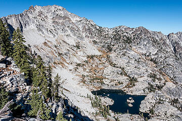 caesar peak and mirror lake