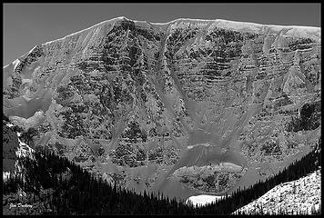 North face of Mt. Kitchener