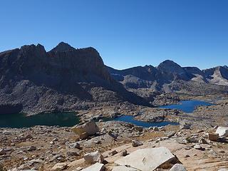 Dusy Basin Lakes