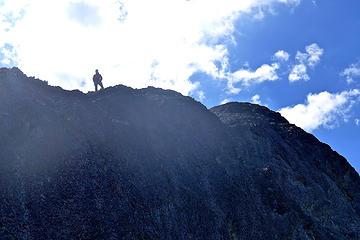 Sergio on ridge