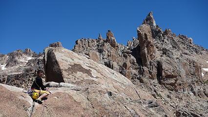 On the summit of El Abuelo