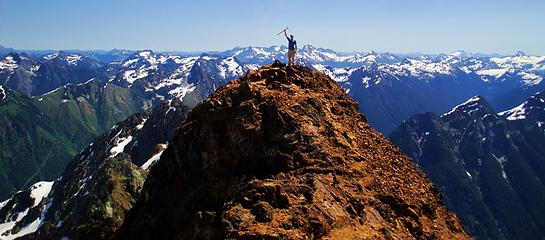 Gimpilator on the east summit