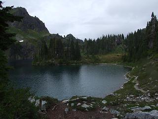 Hart Lake looking NW
