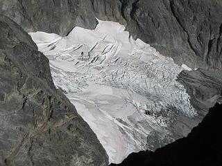 glacier on the NE side of Rahm