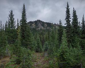 West Peak from Silver Creek Tie trail 1308.1