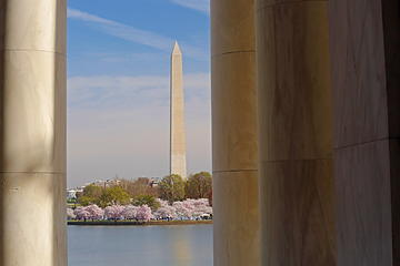 13- Washington Monument from the Jefferson Memorial