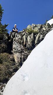 pons off for the summit ridge