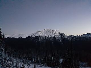 Plummer Mtn at sunrise