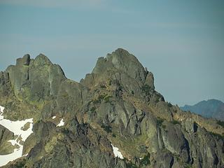 zoom in on Mt Stone summit block