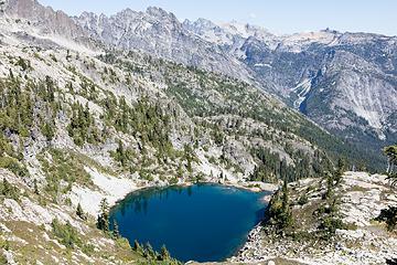 Summit Chief lake