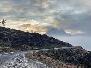 Mowich Lake road