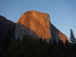 El Cap from valley floor