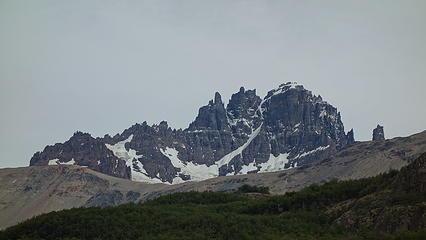 Cerro Castillio from the namesake town
