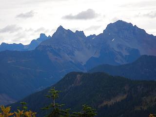 Slesse, Canadian Border Peak, American Border Peak