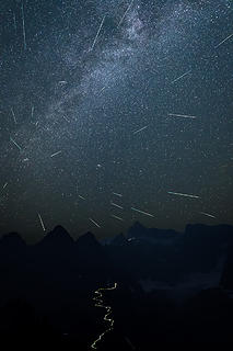 Shuksan and Perseids (1 of 1)