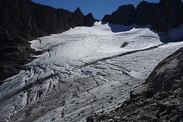 2. Cache Glacier and Col
