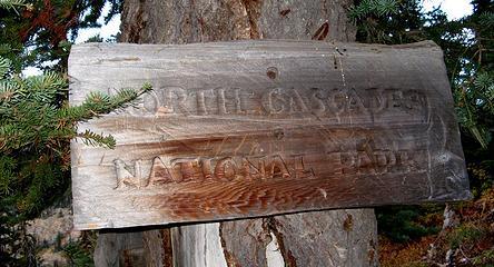 Big National Park sign