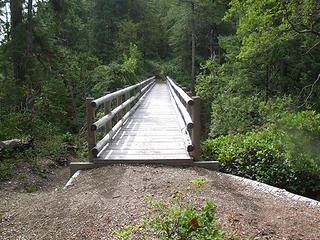 bridge over the West Fork