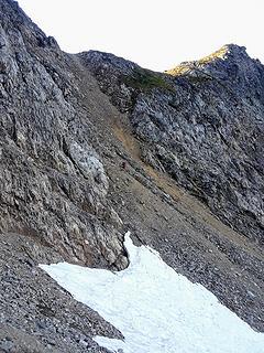Descending gully from pt7285