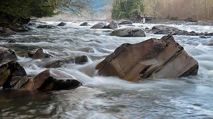 January - Carbon River at Manley Moore Rd