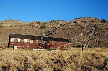 Hart Mt. Oregon CCC Camp.