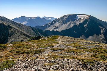 High ridge walk along Lillian