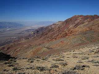 Death Valley National Park, Dante's View to Mt Perry