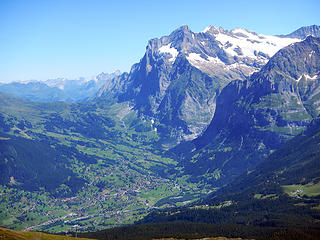 Wetterhorn And Grindelwald