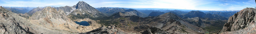 360 degree summit pano