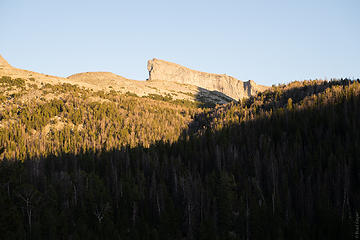 alpenglow on East Temple