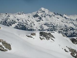 Mt Blum, last week's summit