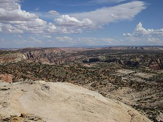 South view from Pt 6160'; The Escalante
