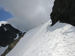 a snow traverse