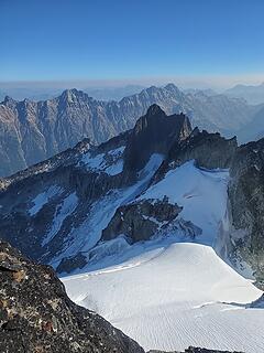 Top of Banded Glacier