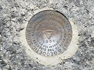 Ruby Hill summit BM