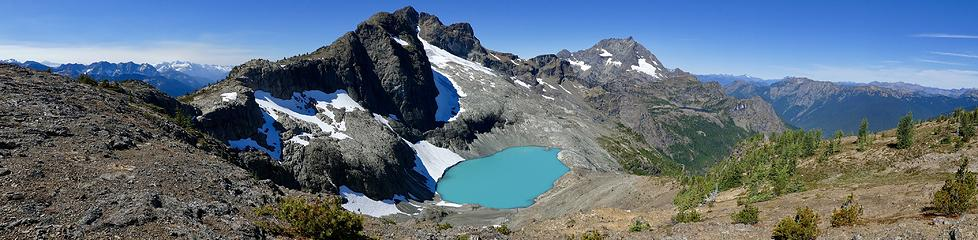 Crater Mountain Panorama