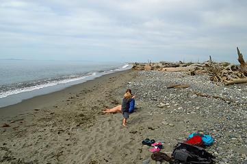 Will mom endure my sand storm?