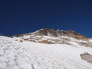 still rugged ridge above