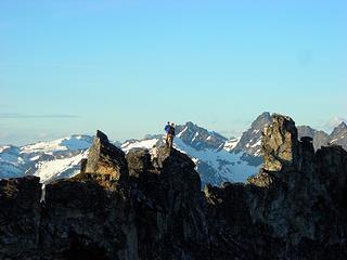 Precarious Summits
