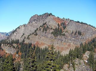 Rampart Ridge southwest face