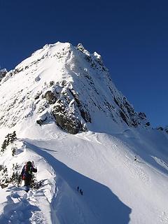 2006 Chair Peak NE Buttress Ascent