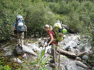 Boulder Creek crossing